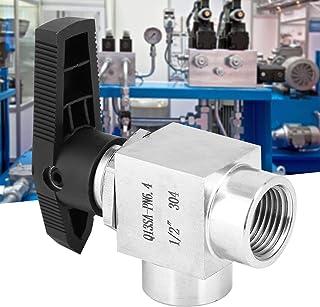 Ventiel, binnendraad, eenvoudig aan te sluiten BSPP binnendraad BSPP ventiel, olieverwarming voor gaswater(Zwart handvat 1/2)