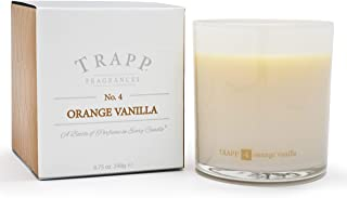 Trapp Ambiance Collection No. 4 Orange Vanilla Poured Scented Candle, 8.75-Ounces