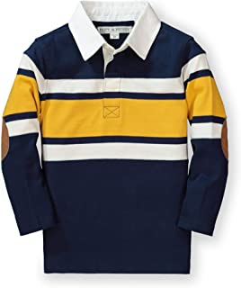 Hope & Henry Boys' Long Sleeve Rugby Shirt