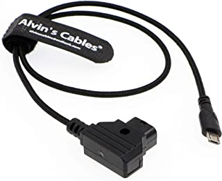 Alvin's Cables Micro USB to D Tap Motor Power Cable for Tilta Nucleus Nano