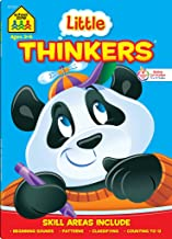 School Zone - Little Thinkers Preschool Workbook - 64 Pages, Ages 3 to 5, Compare and Contrast, Critical Thinking, Proble...