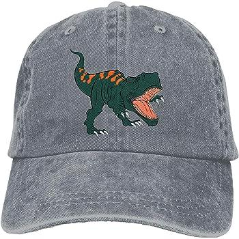 Losping Adult Kids 3D Cartoon Fierce Dinosaur Baseball Cap Funny Wide Brim Snapback Hat
