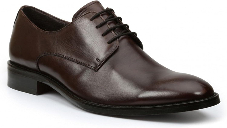 Giorgio Brutini Alton Brown Plain Toe Oxford Leather Dress shoes