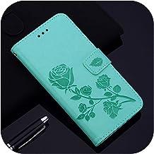 Luxury Flip Case for Oppo A5 2020 A9 2020 Ax5S Ax7 Rx17 Neo A9X A9 A7N Oppo A5S A3S A1K A11X Realme Xt C2 A91 Cover-Rose(G...