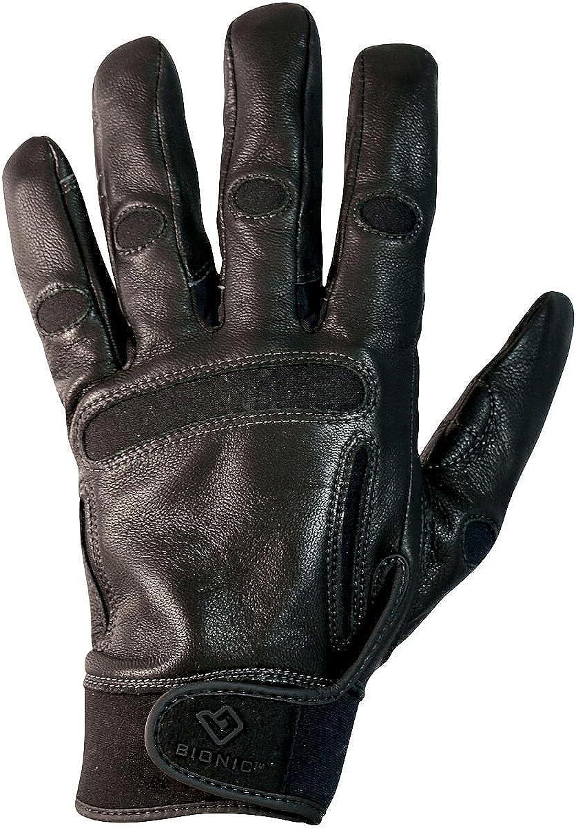 Bionic Gloves Women's CLASSICGRIP Equestrian Gloves Black Small