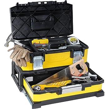 STANLEY 1-95-829 - Caja de Herramientas: Amazon.es: Bricolaje y herramientas