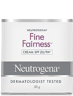 Neutrogena Fine Fairness Cream SPF 20, 50 gm