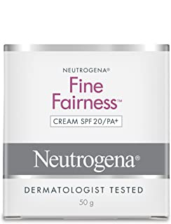 Neutrogena Fine Fairness Cream, SPF 20 PA+, 50g