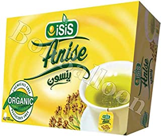 Isis Herbal Tea 100 % Organic Natural Egyptian Anise Tea Flower No Caffeine , No Artificial Flavors , No Artificial Colori...