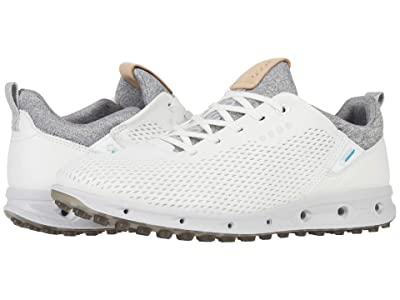 ECCO Golf Cool Pro GORE-TEX(r) (White Yak Leather) Women