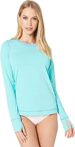 9630850f307 Lilly pulitzer riley infinity brilliant blue wade and sea engineered ...