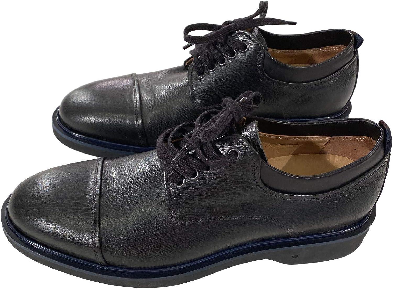 GEORGE BROWN BILT Men's Janssen Cap Toe Derby Oxford Dress Shoes Black