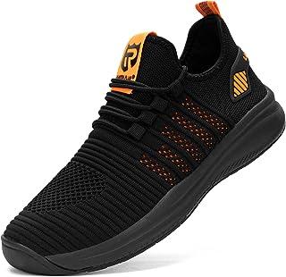 LARNMERN Laufschuhe Herren Damen Wasserdicht Turnschuhe Sportschuhe Sneaker Joggingschuhe Walkingschuhe Traillauf Fitness ...