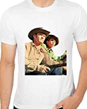 t Shirts For Men Chuck Connors Johny Crawford The Rifleman TV Show