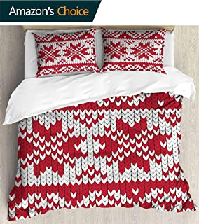 3-Piece Lightweight Printed Quilt Set (Queen),Quilt Cover 86