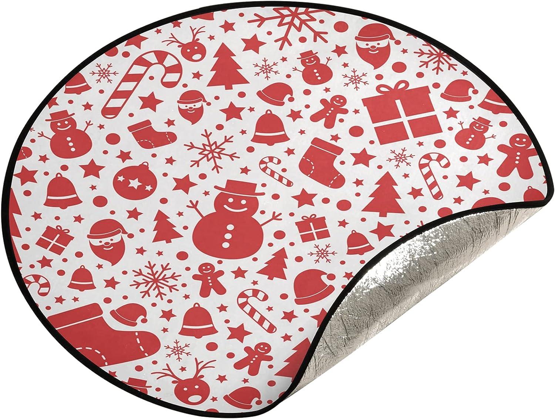 JUMBEAR Christmas Popular Snowman Tree Mat Tr Waterproof Ranking TOP5 Stand