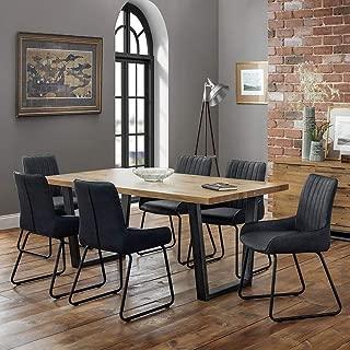 Julian Bowen Brooklyn Dining Set with Soho Chairs