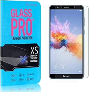 Screen Protector Compatible with Huawei Honor 7X, The Grafu Anti Fingerprint Tempered Glass Screen Protector, HD Screen Pr...
