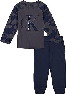 Calvin Klein Conjunto de pantalones de 2 piezas para niños