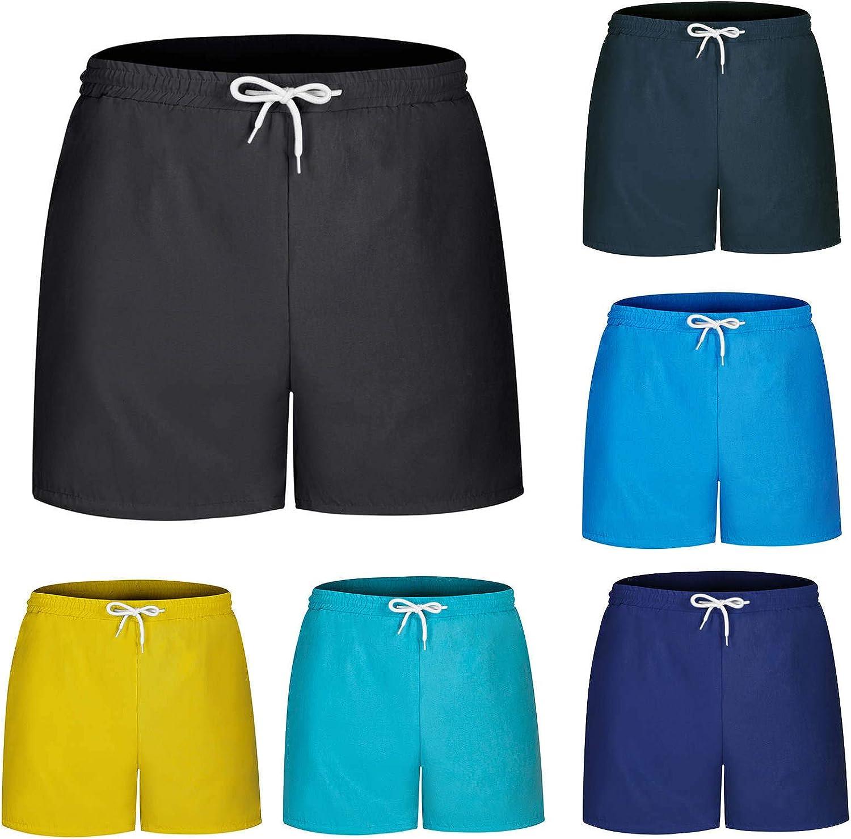 Houston Mall Men's Swim Trunks Board Shorts Above Fit Bea Knee Over item handling ☆ Regular Summer