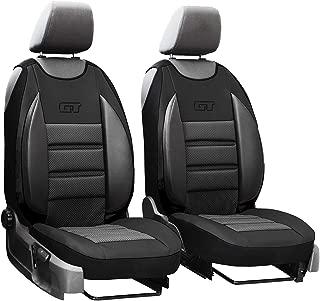 Schwarz Effekt 3D Sitzbezüge für HONDA CIVIC Autositzbezug Komplett