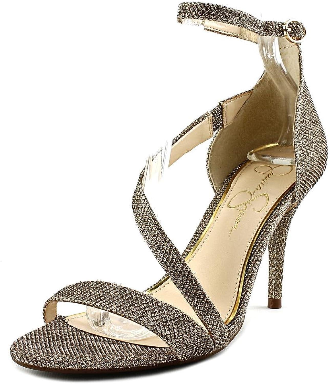 Jessica Simpson Woherrar Mazy Ankle Strap Strap Strap Sandal  mode varumärken