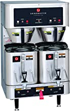 Grindmaster-Cecilware P400E 120/208 volt Dual Shuttle Brewer with 2 CS-LL Shuttle, 1.5-Gallon, Stainless Steel