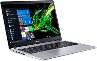 Acer Aspire 5 Slim Laptop 15.6 Full HD IPS Display AMD Ryzen 3 3200U, Vega , Silver, 4-10.99 inches