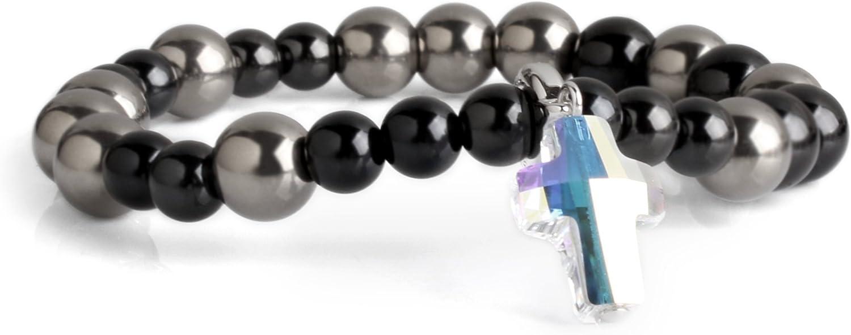 Cloisonnekorea Save money Credence Bracelet Catholic Rosary Edition Swarovs Titanium