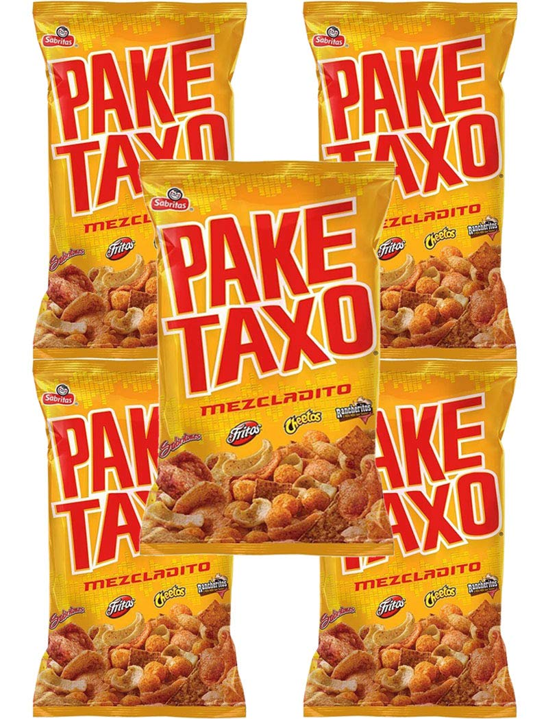 PAKETAXO MEZCLADITO Sales for sale 65g Box bags with 5 outlet
