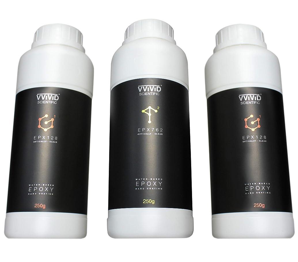 VViViD Optically Clear 2-Part Epoxy Hard Gloss Coating Resin (750g Small Pack)
