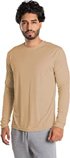 Best Men's UPF 50+ UV Sun Protection Long Sleeve Performance T-Shirt for Sports and Outdoor Lifestyle Review
