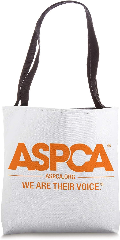 ASPCA Orange Logo Tote Bag