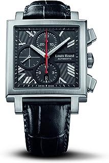 Louis Erard - Hombre Reloj automático 77504 AS02. BDC33 con Correa de Piel