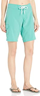 Kanu Surf Women's Marina Solid Stretch Boardshort, Lagoon, 14