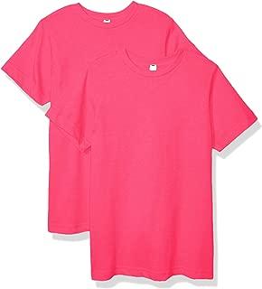 AquaGuard Boys AQU-LA6101-2PK Fine Jersey T-Shirt - 2 Pack Short Sleeve T-Shirt