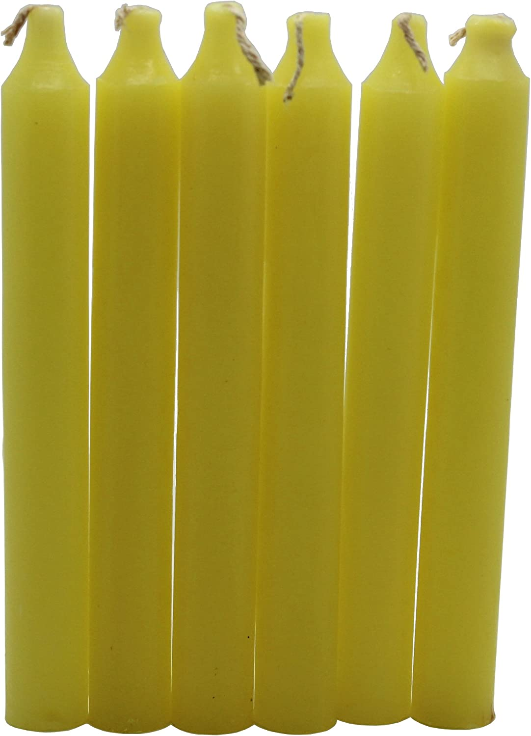 Govinda Max 47% OFF - Taper Candle 6 Yellow Inch of Pack 36 excellence