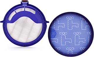Anewise Filter Kits for Dyson DC25 Includes 1pcs 919171-02 Washable Pre-Motor Filter & 1pcs 916188-05 Post Motor HEPA Filter, Fits DC-25 Models