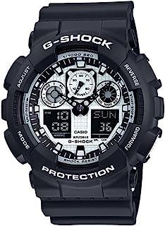 Casio G-Shock Duo/Chrono Black And White Ga100Bw-1A Watch