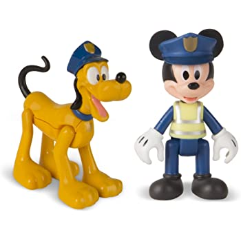 4-Piece 5516220 Beverly Hills Teddy Bear Company Disney Mickey and Friends Toy Figure Playset