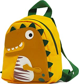 Toddler Backpack, SIXVONA Cute Dinosaur Small Daycare Backpack for Boys and Girls
