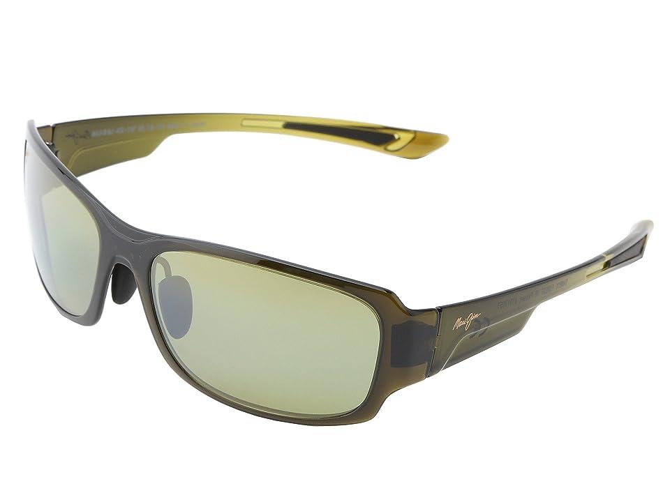 Maui Jim Bamboo Forest (Olive Fade/Maui HT) Sport Sunglasses