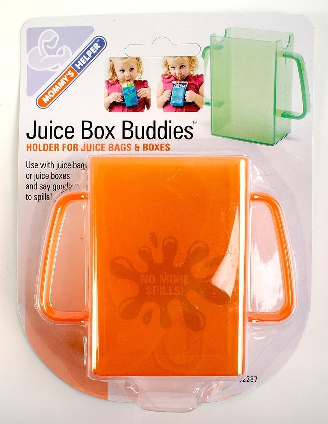 忍耐毎週腹Mommy's Helper Juice Box Buddies, Orange, by Mommy's Helper
