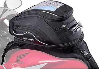 Cortech Super 2.0 18-Liter Motorcycle Tank Bag - Black / Strap Mount - One Size