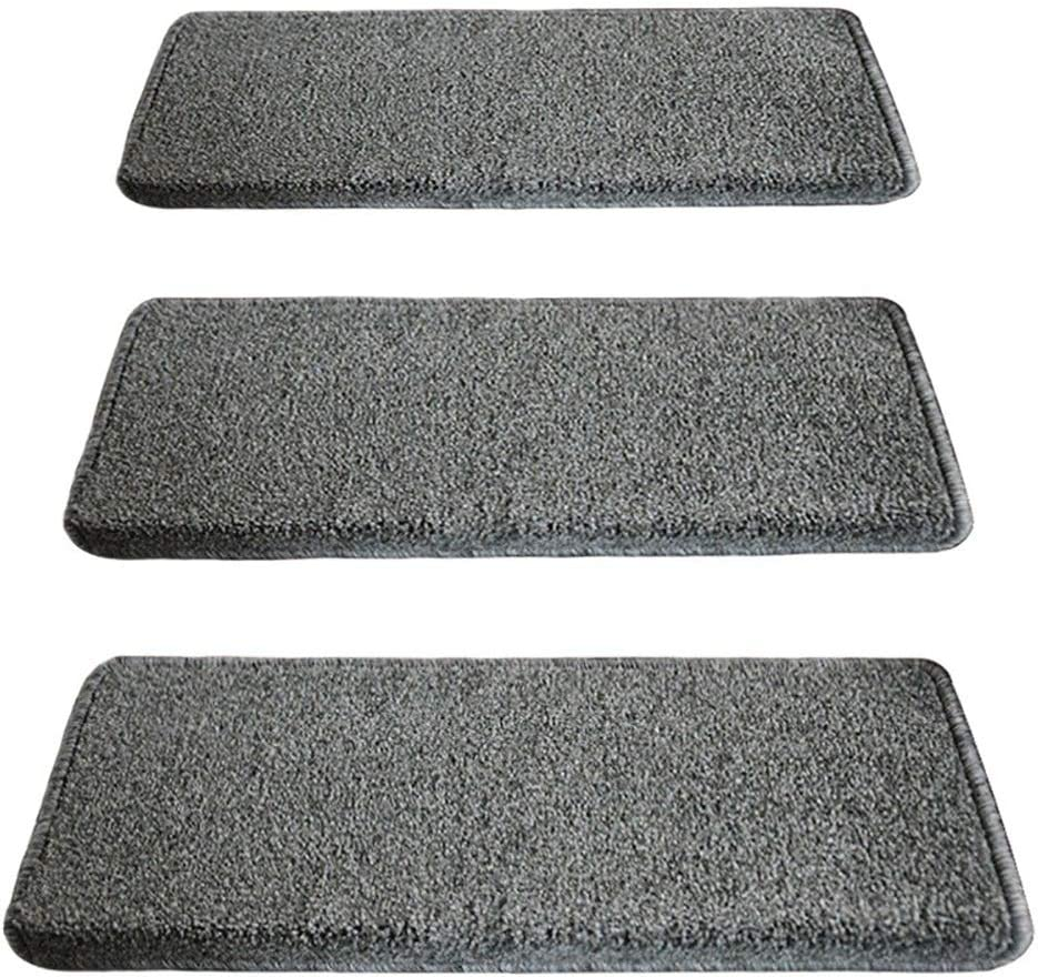 Stair New life Pads Treads Carpet Non-Slip Very popular Grey Mats Square
