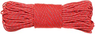 PARACORD PLANET Highly Reflective Tent Rope - Choose from 50 or 100 Feet - Perfect for Camping & Hiking