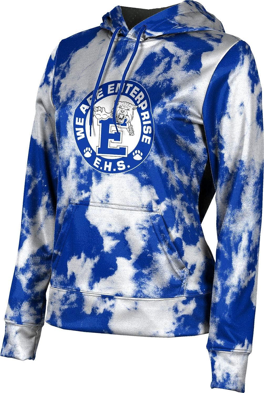 ProSphere Enterprise High School Girls' Pullover Hoodie, School Spirit Sweatshirt (Grunge)