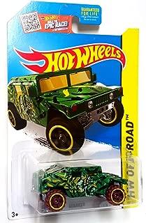 Hot Wheels, 2015 HW Off-Road, Humvee [Green Camoflage] Die-Cast Vehicle #105/250