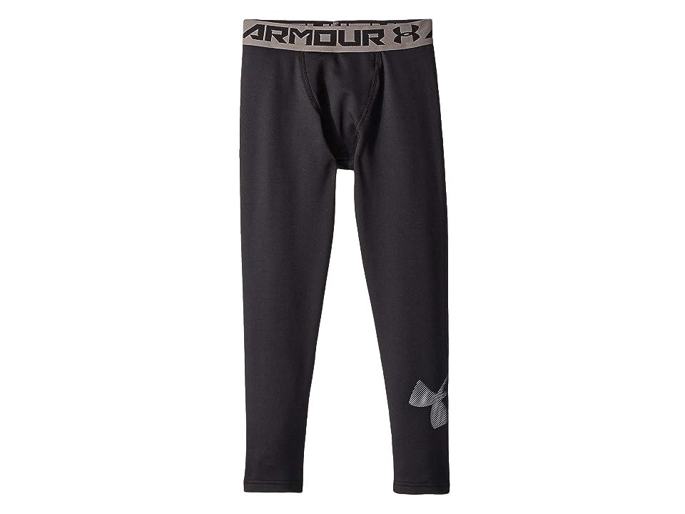 Under Armour Kids - Under Armour Kids Armour Cold Gear Leggings  (Gray)