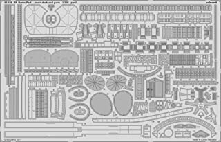 EDU53199 1:350 Eduard PE - RN Roma Part 1: Main Deck and Guns (for use with the Trumpeter model kit) [MODEL KIT ACCESSORY]